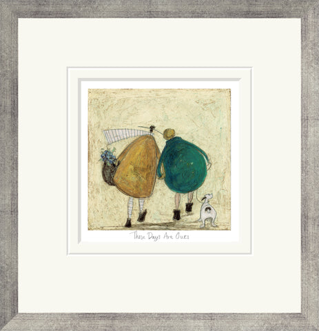 Sam Toft These days Are Ours (2016) - Framed
