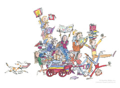 QUENTIN BLAKE - The Book Cart