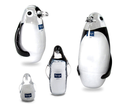 svaja glass penguins
