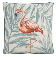 WALTON & CO - Amazing Flamingo Square Cushion
