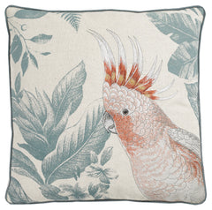 WALTON & CO - Amazing Parrot Square Cushion
