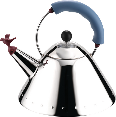 Alessi Kettle Bird Blue