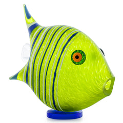 BOROWSKI GLASS - Angel Fish Lime Green