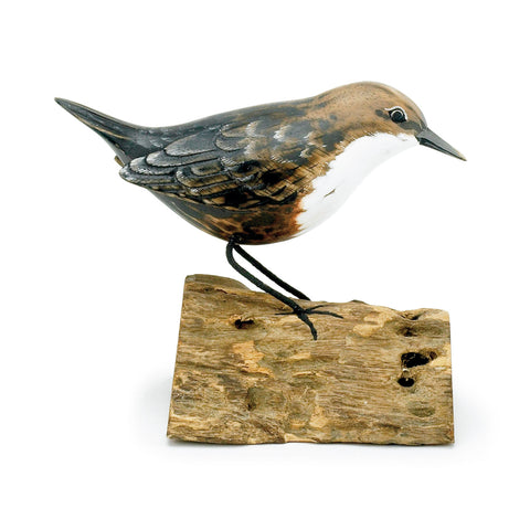 Archipelago Dipper hand carved Wooden Bird