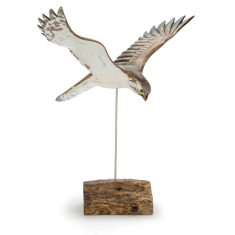 Archipelago Kestrel Hand Carved Wooden Bird