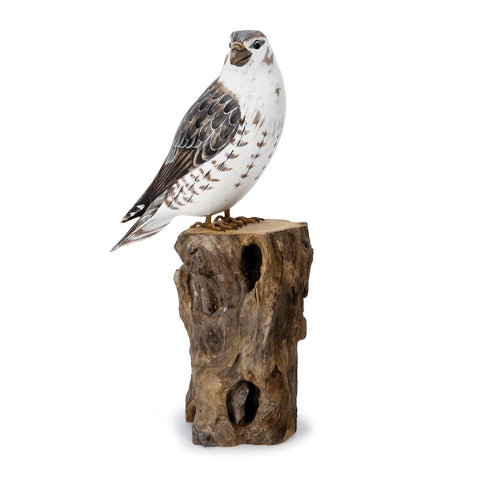 Archipelago Merlin Hand Carved Wooden Birds