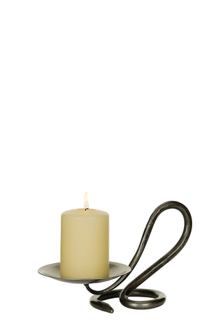 Belltrees Forge Single Round Candle Holder