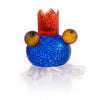 Borowski Frosch Candle Holder Blue
