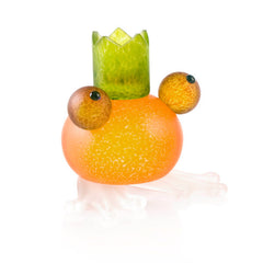 Borowski - Frosch Candle Holder Orange