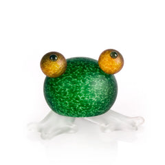 BOROWSKI GLASS - Frosch Paperweight Green