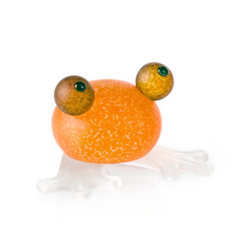 borowski-Frosch Paperweight Orange