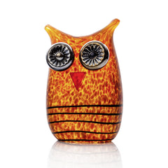BOROWSKI GLASS - Mini Owl Amber