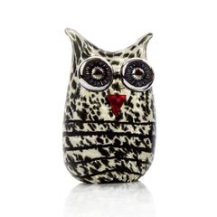 BOROWSKI GLASS - Mini Owl Beige