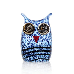 BOROWSKI GLASS - Mini Owl Blue