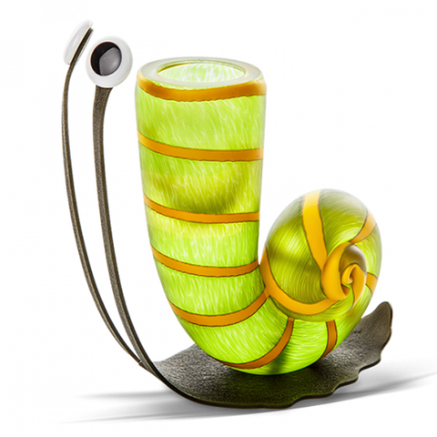 borowski slow jim vase lime green