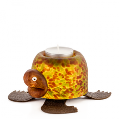 Borowski - Turtle Tlight Holder Amber