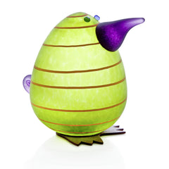 BOROWSKI GLASS - Kiwi Egg Lime Green