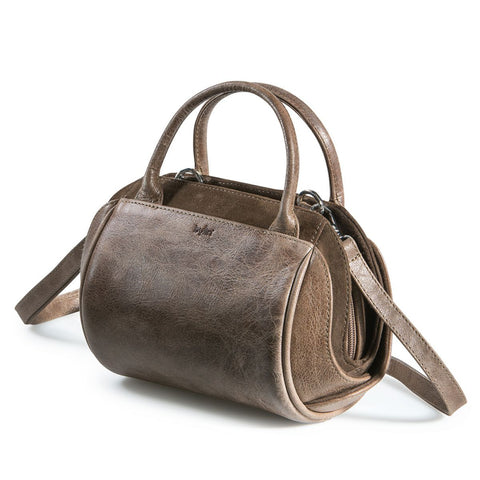 Bylin,Oberoi Evening Taupe Leather Handbag