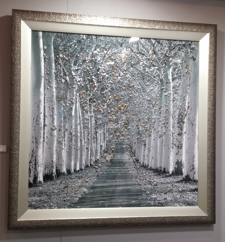 Clare Wright Epernay Gold (2014) - Framed