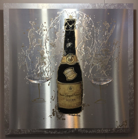 Clare Wright Vintage Veuve Bottle (2014)