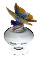 Daum - Butterfly Perfume Bottle