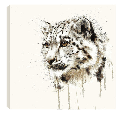 David Rees Snow Leopard (2017) Boxed Canvas