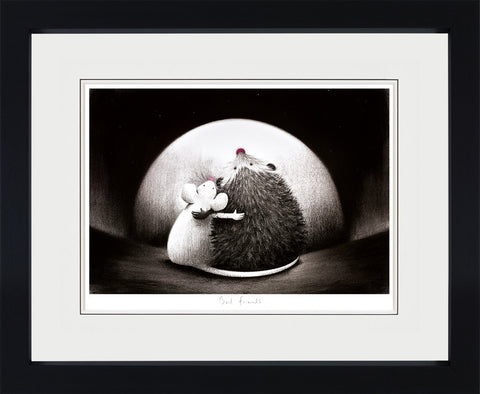 Doug Hyde, Best Friends - Framed