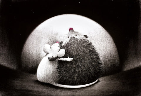 Doug Hyde, Best Friends - Unframed