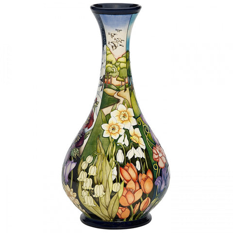 four seasons vase moorcroft sprint