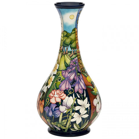 four seasons vase moorcroft summer