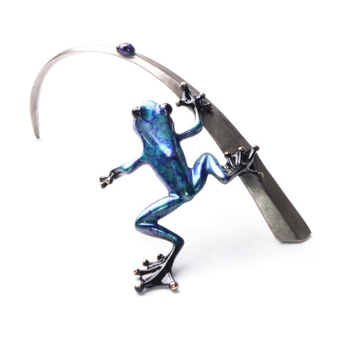 Frogman Blue Lady 2016 - back profile