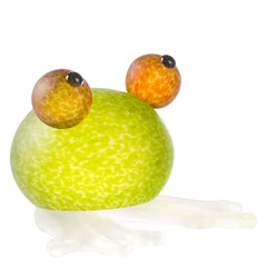 BOROWSKI GLASS - Frosch Paperweight Lime Green