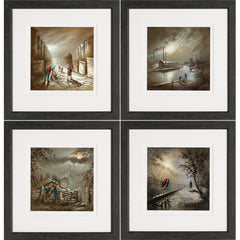 Bob Barker - Northern Light Portfolio Set of 4 (2017) Framed