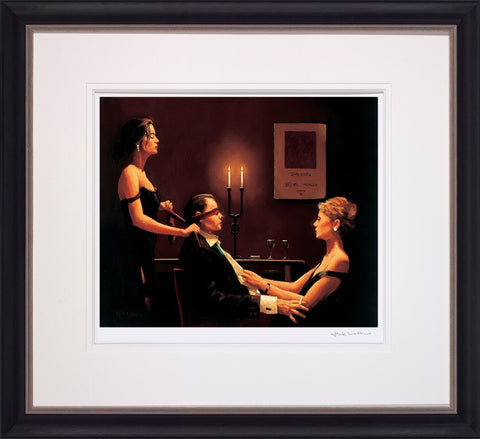 Jack Vettriano, Wicked Games - Framed