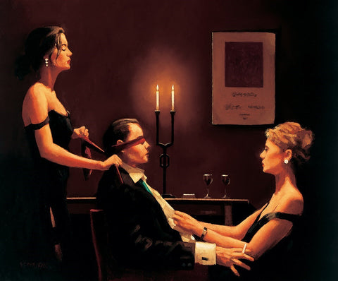 Jack Vettriano, Wicked Games - Unframed