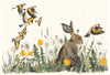 Jackie Morris illustration Dandelion (2018) for Robert Macfarlane's The Lost Words