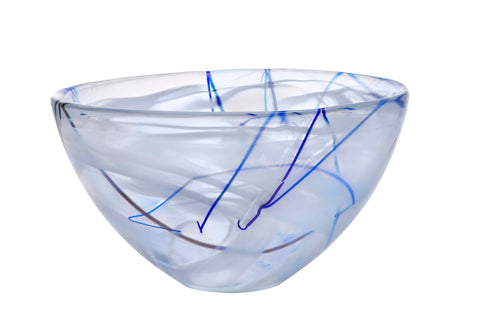 Kosta Boda Contrast Bowl 230mm White