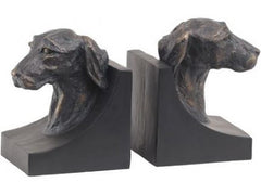 LIBRA - Terrier Head Book Ends