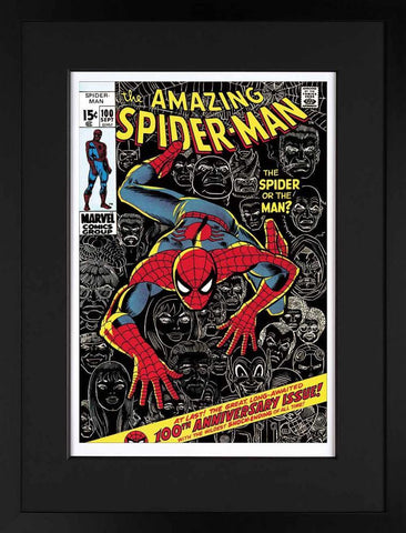 Marvel Superheroes, The Amazing Spider-Man #100 - The Spider Or The Man? - Giclee on Paper (2013)