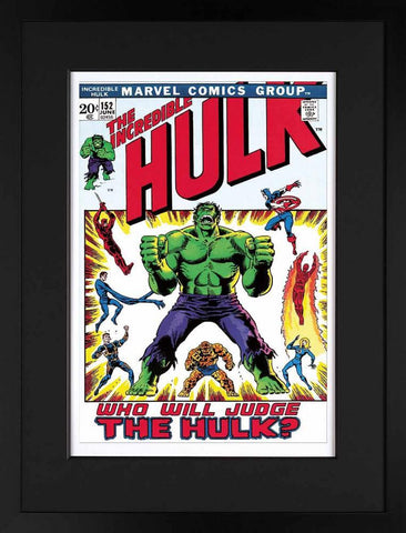 Marvel Superheroes, The Incredible Hulk #152 - Who Will Judge The Hulk? - Paper (2013)