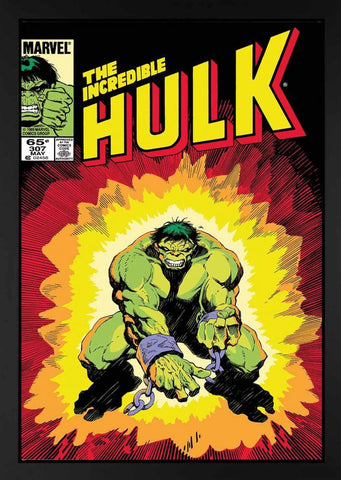 Marvel Superheroes, The Incredible Hulk #307 - Boxed Canvas (2013)