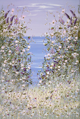 Mary Shaw, The View Across the Sea V - Unframed
