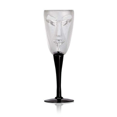 MALERAS - Kubik, wine glass, clear
