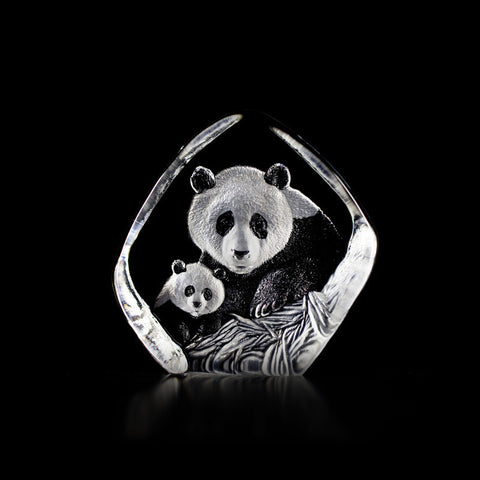 mats-jonasson-Panda with Cub