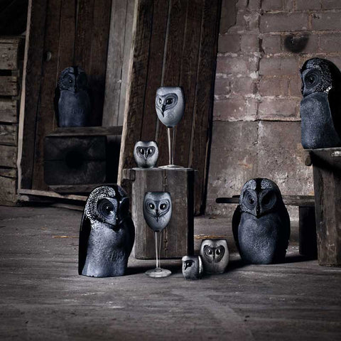 Mats Jonasson Owl Black - Strix Collection