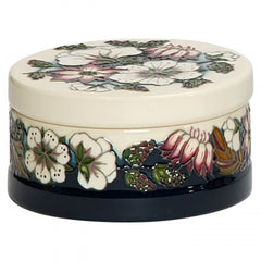 Moorcroft - Bramble Revisited Lidded Box 125/4 (2018)
