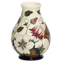 Moorcroft - Bramble Revisited Vase 7/5 (2018)