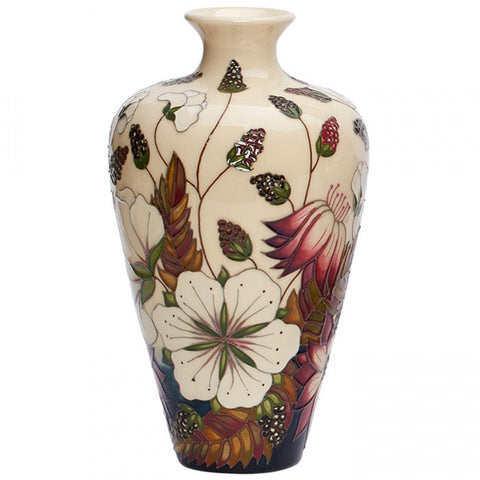 moorcroft-Bramble Revisited Vase 72/9 (2019)