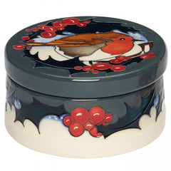 MOORCROFT - Brave Sir Robin Lidded Box 125/4 (2018)