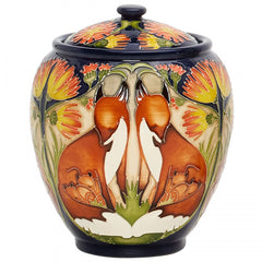 MOORCROFT - Fox and Cubs Vase 401/5 (2019)